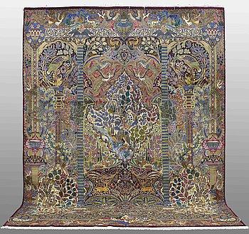MATTA, Figural kashmar, ca 395 x 305 cm.