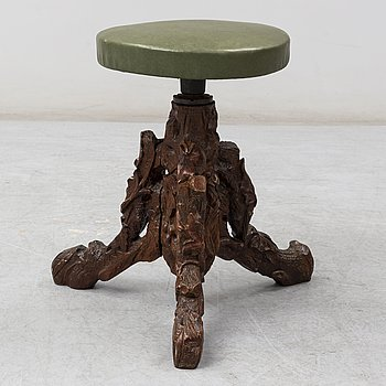 A late 19th century stool.