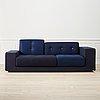 Hella jongerius, a 'polder compact' sofa from vitra.