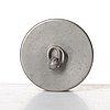 Firma svenskt tenn, ask med lock, modell 32b, stockholm 1929, proveniens estrid ericson.