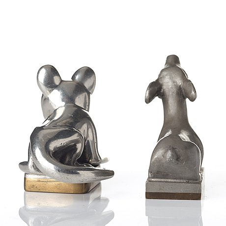Estrid ericson, sigillstampar, 2 st, firma svenskt tenn, troligen 1920-30-tal, proveniens estrid ericson.