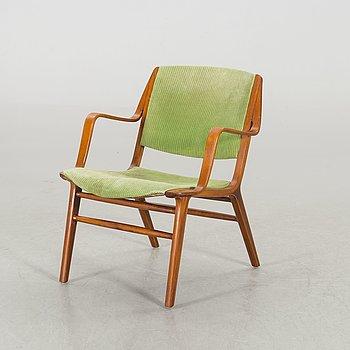 PETER HVIDT & ORLA MØLGAARD NIELSEN,an Ax-chair Fritz Hansen Denmark 1960's.