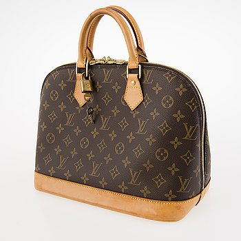 LOUIS VUITTON Monogram Canvas Alma Hand Bag.