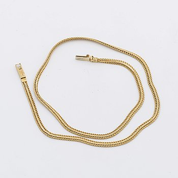 GOLD NECKLACE 18K gold, 14 4 g.