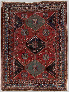 MATTA, Antik/semiantik Afshar, ca  205 x 155 cm.
