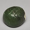 A group of four nephrite objects, qing dynasty or older.