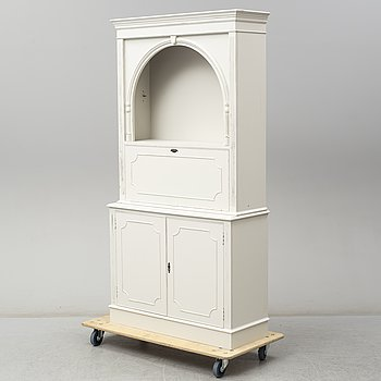 A painted cabinet, mid 20th Century.