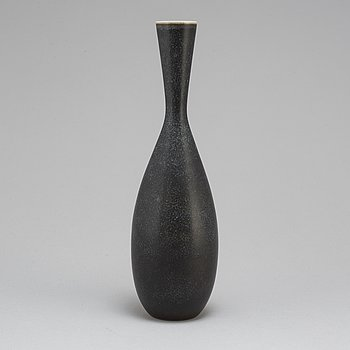CARL-HARRY STÅLHANE, a unique stoneware vasae, Rörstrand 1955.