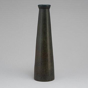 CARL-HARRY STÅLHANE, a unique stoneware vase, Rörstrand 1961.