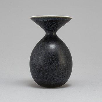CARL-HARRY STÅLHANE, a unique stoneware vase, Rörstrand 1954.