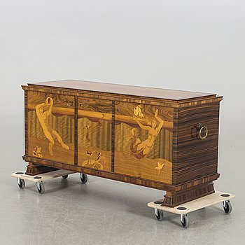 A Swedish 1920/30's sideboard.