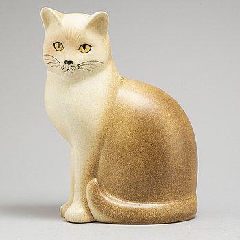LISA LARSON, figurin, stengods, Gustavsberg, signerad Lisa L K-studion och daterad 97.,