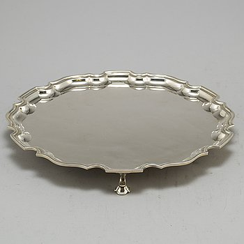 TIFFANY & CO, tray, sterling silver, marked Tiffany&Co and numbered 24071.