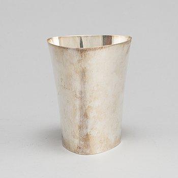 ERIC LÖFMAN, a silver vase, KG Markströms Guldsmeds Ab, Uppsala 1957.