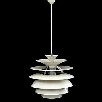 "POUL HENNINGSEN, taklampa, ""PH Snowball"", för Louis Poulsen, Danmark, 1900-talets senare del."