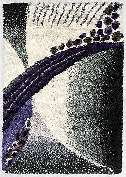 ANN JONASSON, a Finnish long pile rug for Ryijypalvelu. Circa 170x120 cm.
