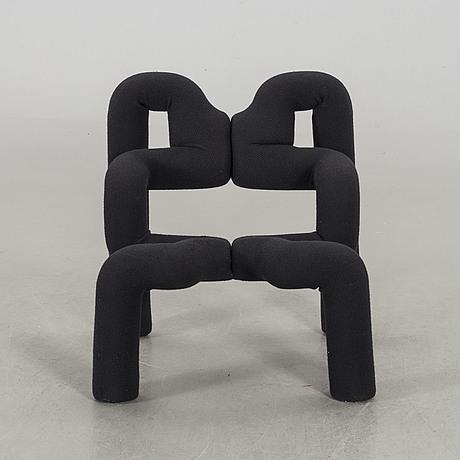 """A terje ekstrom """"ekstrem"""" armchair norway 1980's."""