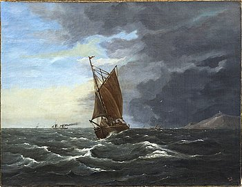 WALTER HICK TRUSCOTT, ascribed to oil on canvas signed and dated 1862.
