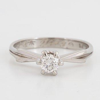 RING, med briljantslipad diamant 0,20 ct.