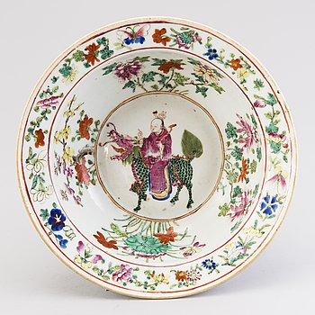 SKÅL, porslin, Kina 1800-tal.
