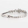 Armband, med briljantslipade diamanter