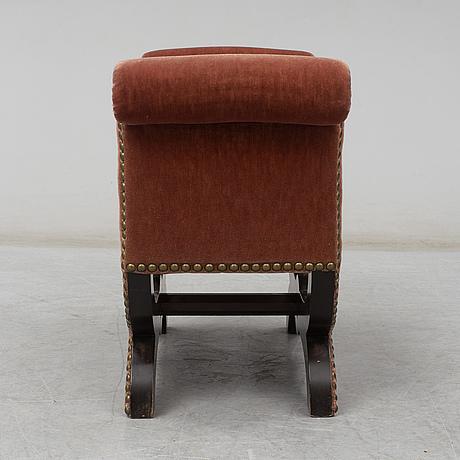 A swedish modern stool by otto schulz, boet, gothenburg.