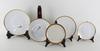 Matservis och kaffeservis, 56 + 28 delar, porslin, rosenthal resp bavaria.