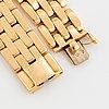 "An 18k gold cartier bracelet ""maillon panthere""."