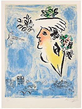 """622. Marc Chagall, """"Le ciel bleu""""."""