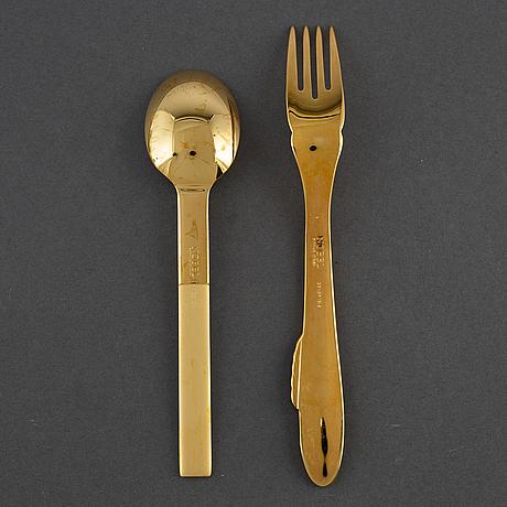 Gunnar cyrÉn, 18 pieces of cutlery 'nobel' by gense.