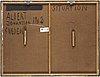 Betongspackel på pannå, signerad albert johansson och daterad 1962
