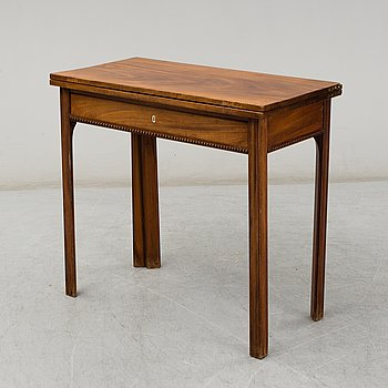 A second half of the 19th century table.