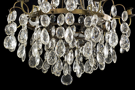 A swedish 20th century chandelier
