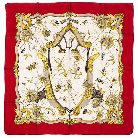 "HermÈs, scarf, ""ingrid"", lenke szechwnzyl, original edition1969."