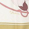"Hermès, scarf, ""flora graeca"", niki goulandris, original edition1983."