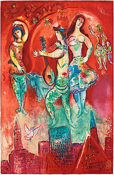 "629. Marc Chagall After, ""Carmen""."