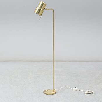 A second half of the 20th Century brass floorlamp by Hans-Agne Jakobsson.