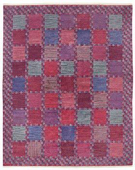 "187. Barbro Nilsson, A CARPET, ""Rödingen"", knotted pile, ca 316,5 x 255 cm, signed AB MMF BN."