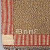 "Märta måås-fjetterström, a carpet, ""effsingen"", flat weave, ca 250 x 156,5 cm, signed ab mmf."
