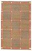 "Märta måås-fjetterström, matto, ""effsingen"", flat weave, ca 250 x 156,5 cm, signed ab mmf."