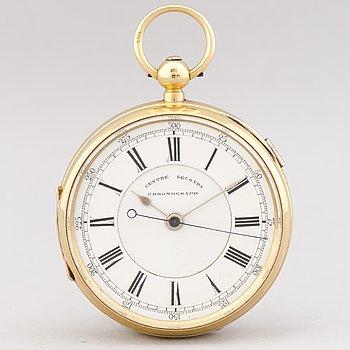 FICKUR, Centre Seconds Chronograph, 52 mm.