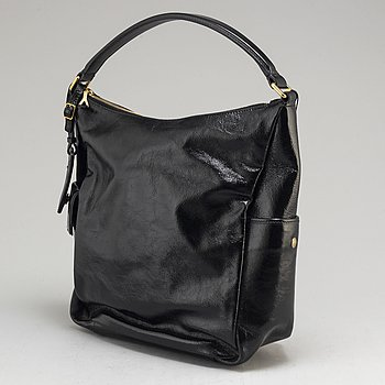YVES SAINT LAURENT, a 'Multy' patent leather bag.