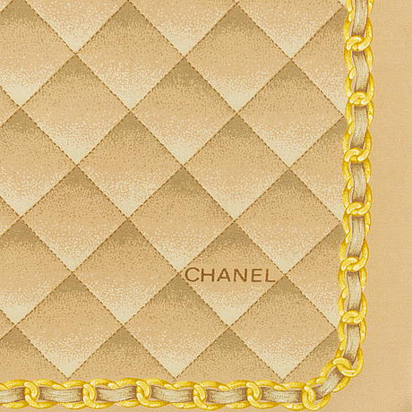 Three silk scarves from chanel