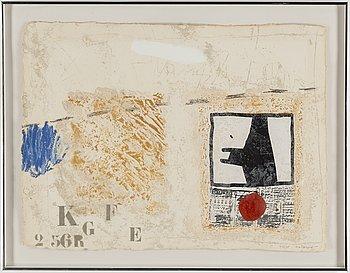 JAMES COIGNARD, carborundumetsning, signerad och numrerad 69/75.