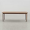 A 1960's 70's coffee table. cites certificate