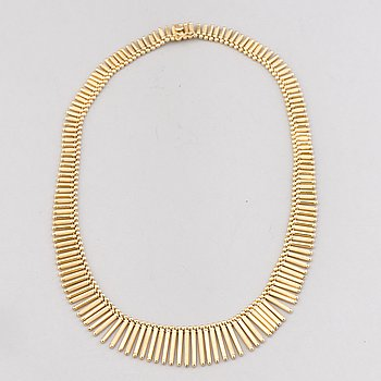A NECKLACE, 18K gold. Uno a Erre, Italy.