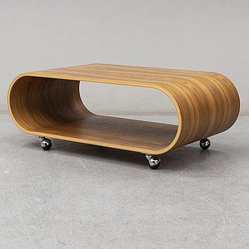 "PETER EKLÅS, soffbord / mediebänk, ""Velodrome"", Designtorget, 2000-tal."