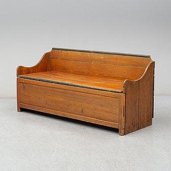 A 19th century sofa.