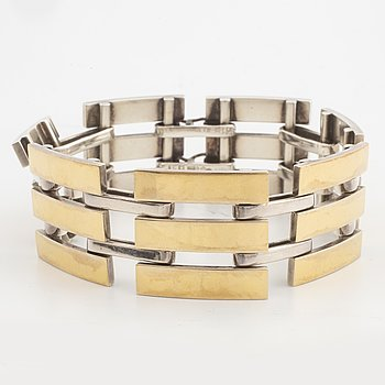 A Sigurd Persson silver bracelet.
