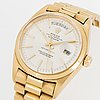 """Rolex, oyster perpetual, day date, chronometer, """"tiffany & co"""" wristwatch, 36 mm"""